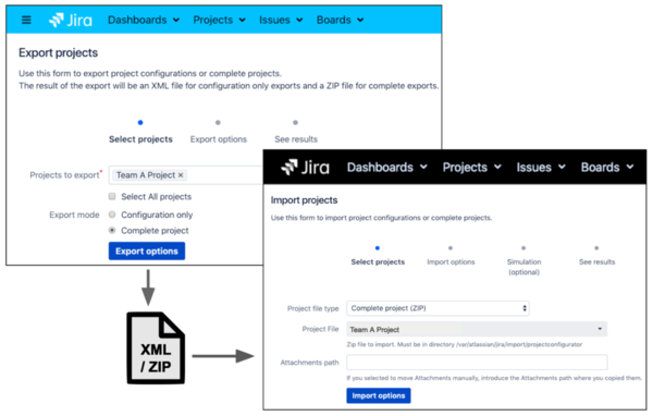 Easily migrate Jira projects