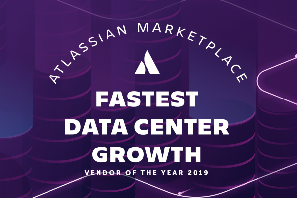 Atlassian partner of the year 2019 graphic