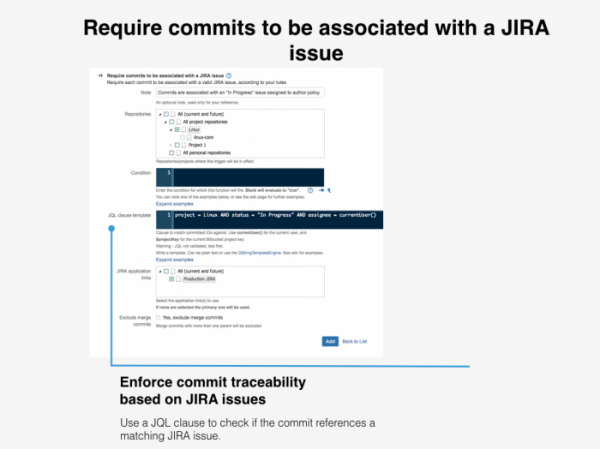 Commits for Jira