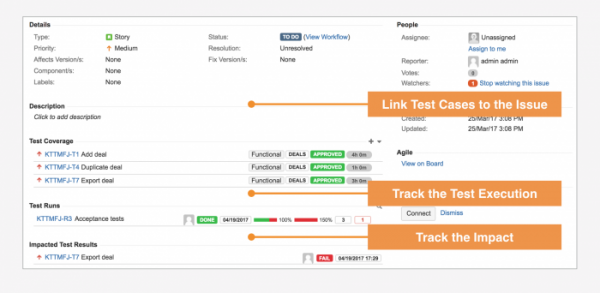 Enjoy full requirements traceability for your testing on Jira Cloud