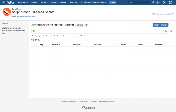 enhanced search page