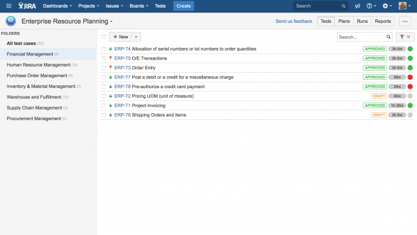 Best practices managing test cases in JIRA NUMBER 5