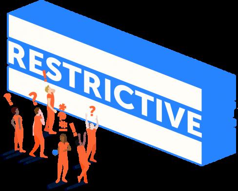 Restrictive