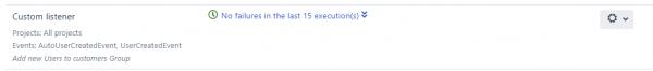 Node reporting, execution history, Jira