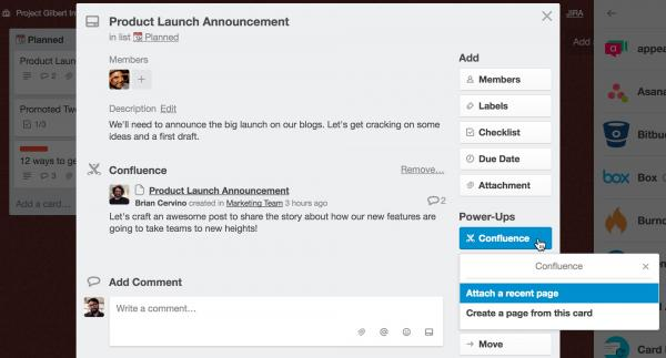 prioritzing trello requests with Confluence