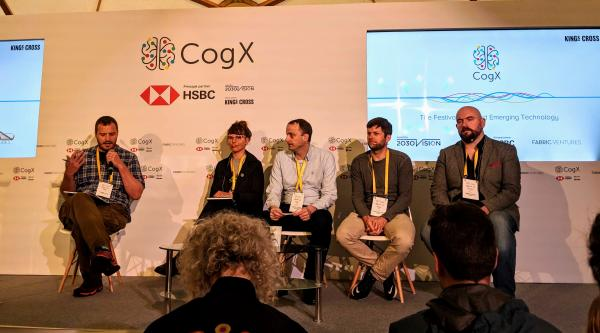 DAO and decentralisation panel at CogX, London AI conference