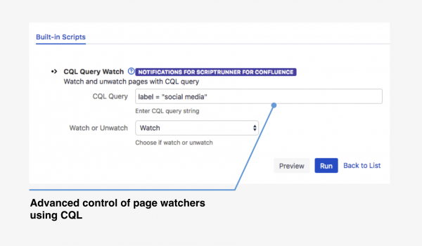 CQL Search watch