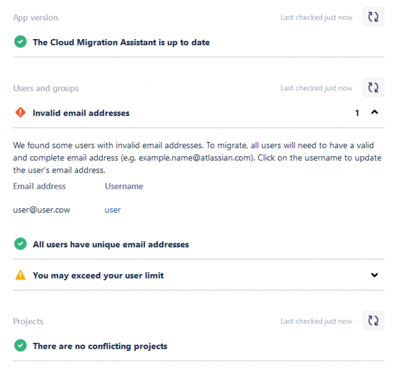 jira cloud migration assistant screen6