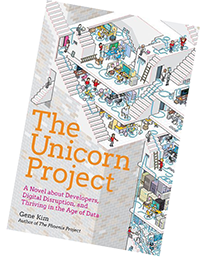 The Unicorn Project by Gene Kim - how DevOps helps enterprises deal with change
