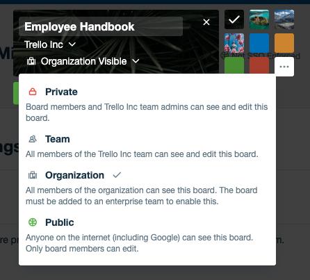trello employee handbook